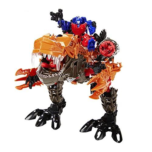 N&G Decoración del hogar Transform Car Robot Figura de acción Toy Deformation Robot Toy Niños Montado Modelo Dinosaur Toy Child Deformation Toy Car M (Coche Inteligente)