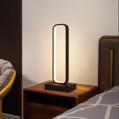 QEGY Lámpara de Mesa con Mando a Distancia Regulable, LED Lámpara de Escritorio Estilo Nórdico, 1500 Lumen, 3 Temperatura del color, Cuidado de Ojos, para Sala Cuarto de Los Niños,White light
