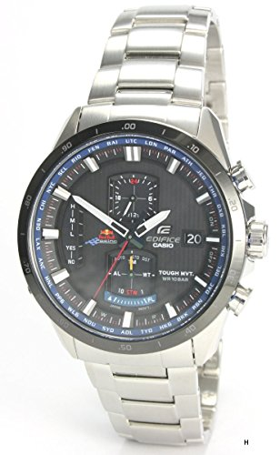 Casio EQW-A1110RB-1AER - Orologio, cinturino in acciaio inox, colore: argento