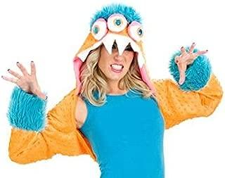 Premium Snarly Monstar Costume Shrug