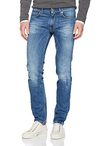HARMONT & BLAINE W01360059354Z4, Pantalones Hombre, turquesa, 34 (Talla fabricante: 34)