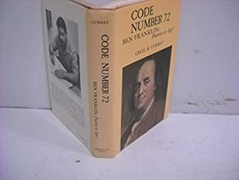 Code Number 72/Ben Franklin: Patriot or Spy? 0131394932 Book Cover
