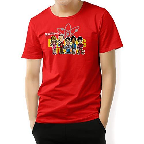 Camiseta Hombre - Unisex Series de Televisión The Big Bang Theory, Bizanga!!