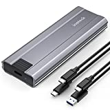Inateck NVMe Enclosure for M.2 NVMe and SATA SSDs, USB 3.2 Gen 2 Type C,FE2026 Space Gray