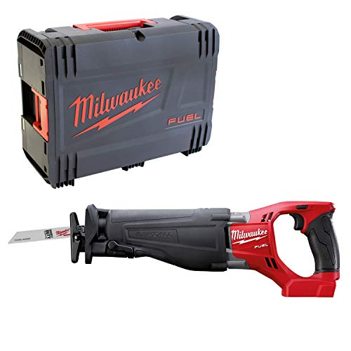 Milwaukee 4933451428 Akku-Elektrowerkzeuge – Der Sable m18csx-0 Instrument Solist in HD Box, Red & Black