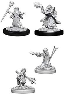 Dungeons & Dragons Nolzur's Marvelous Unpainted Miniatures Bundle: Gnome Male Wizard & Gnome Female Wizard