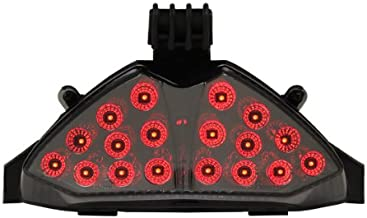 Integrated Sequential LED Tail Lights Smoke Lens for 2007-2009 Suzuki GSF1250S Bandit GSX650F/GSX1250FA