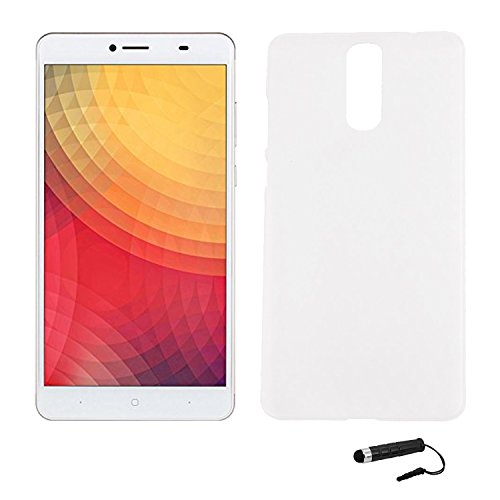 Tasche für Doogee Y6 MAX Hülle, Ycloud Handy Backcover Kunststoff-Hard Shell Case Handyhülle mit stoßfeste Schutzhülle Smartphone Weiß Transparent