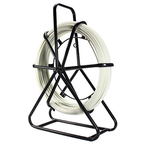feichang Otras herramientas 4,5 mm 100 m cinta de pescado cable de fibra de vidrio conducto Rodder Fishtape cable de fibra de vidrio extractor