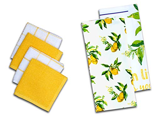 """AMOUR INFINI Citrus Splash 6 Pack Kitchen Set 