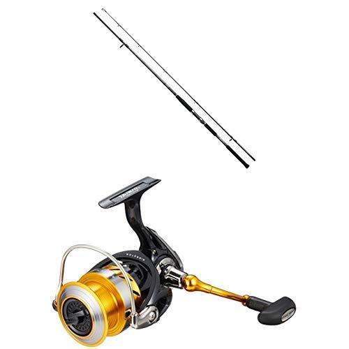 ダイワ(DAIWA) ショアジギングロッド スピニング ジグキャスター 96M ショアジギング 釣り竿 & スピニングリール 15 レブロス 3012H (3000サイズ)