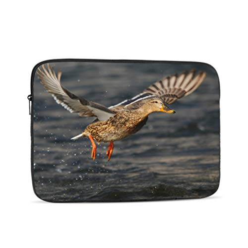 Hard Laptop Cases Mallard Or Wild Duck On Branch Accessories for MacBook Pro Multi-Color & Size Choices10/12/13/15/17 Inch Computer Tablet Briefcase Carrying Bag