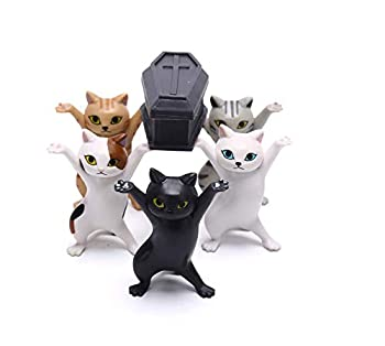 Cat Coffin Dance,The Cat Lifted The Coffin Dancing Pallbearers Funny Pen Holder  ColorA
