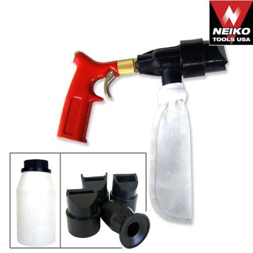 Lowest Price! Spot Sand Blasting Gun Air Spot Blaster Kit- Closed Cycle Free Blast