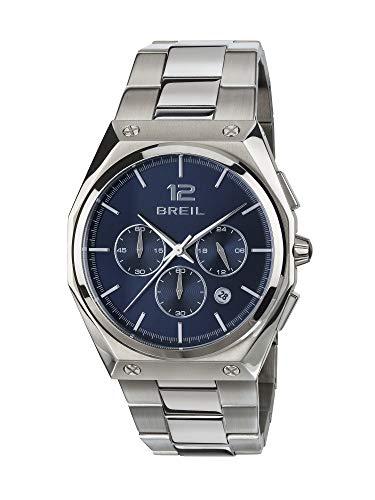 Uhr BREIL für Mann Modell Four.X mit stahlarmband, Chrono Quartz Bewegung