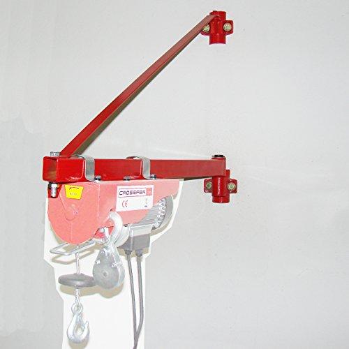 Schwenkarm KST1000 für Seilwinden/Kranarm max 1000kg Last 75cm Auslage für Seilzüge/Lastarm für Hebezüge