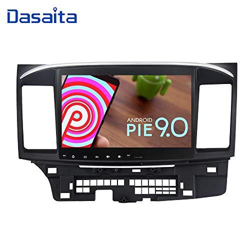 Dasaita 10.2 Inch Android 9.0 Car Stereo for Mitsubishi Lancer with Factory Rockford System 2008 to 2017 GPS Navigation Radio
