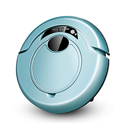 LG Snow Robot aspiradora, aspiradora doméstica Totalmente automática, Robot Duradero, silencioso e Inteligente e Integrado (Color : Blue)