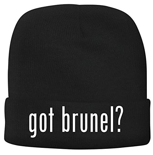 BH Cool Designs got Brunel? - Men's Soft & Comfortable Beanie Hat Cap, Black, One Size