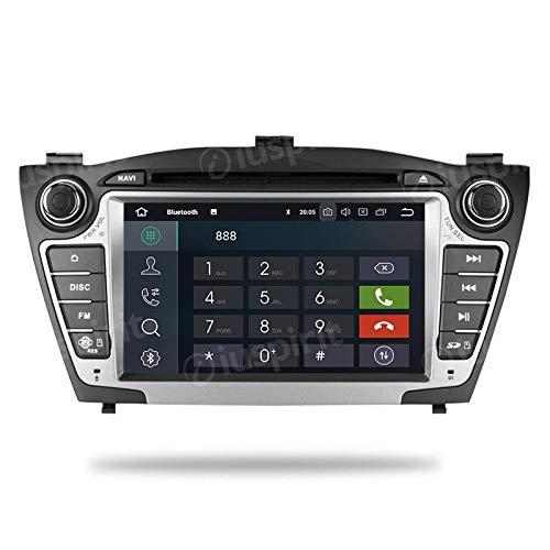 ANDROID 10 GPS DVD USB SD WI-FI Bluetooth MirrorLink autoradio 2 DIN navigatore Hyundai IX35 / Tucson 2009, 2010, 2011, 2012, 2013, 2014
