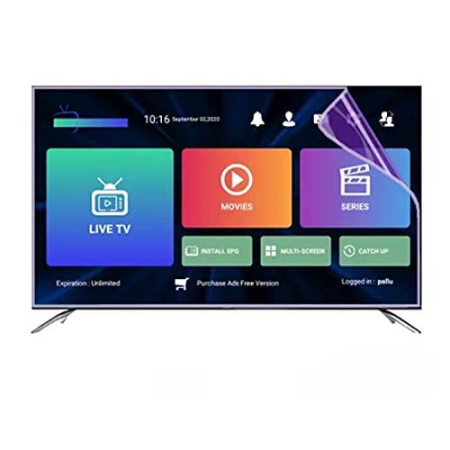 ASPZQ 32~75 Pollici Proteggi Schermo TV -Filtro Luce Blu per Schermo TV 4K/Display LCD/OLED -Protezione per Gli Occhi/Ridurre L'affaticamento degli Occhi