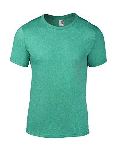 Anvil - Top de sport Homme Anvil Men's Lightweight Tee - Vert - Grün (HGN-Heather Green) - Medium