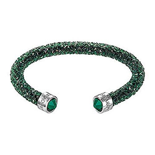 SWAROVSKI Crystaldust Cuff,Green 5250690