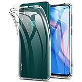 REY - Funda Carcasa Gel Transparente para Huawei P Smart Z - Y9 Prime 2019, Ultra Fina 0,33mm, Silicona TPU de Alta Resistencia y Flexibilidad