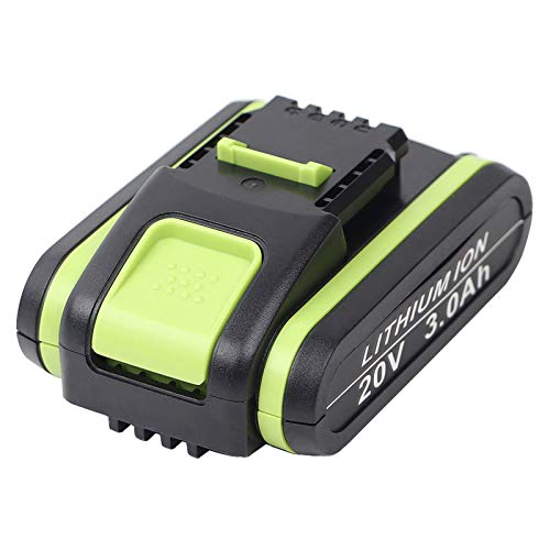 DSANKE Batería de repuesto para Worx WA3551, WA3551, WA3551.1, WA3553, WA3553.1, WA3553.2, WA3572 y WA3641 (3,0 Ah, 20 V)