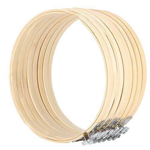 Telai da ricamo, telaio a punto regolabile, facile da usare e riporre, per gli appassionati di punto croce,(8 20cm)