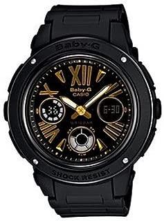 Casio Baby G Women BGA153-1B Year-Round Analog-Digital Automatic Black Watch