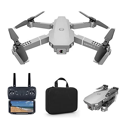 ZHAO Dron E68, Dron Plegable Ultra HD De C Mara Dual 4k, Fotograf A Autom Tica, Vuelo A Campo Traviesa, Funci N De Duraci N De Bater A Ultralarga, Detecci N De Gravedad, Sin Modo Cabeza