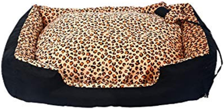 FERZA petsuppliesmisc Removable kennel mediumsized large dog dog mat sofa four seasons pet warm dog bed (Size   M)