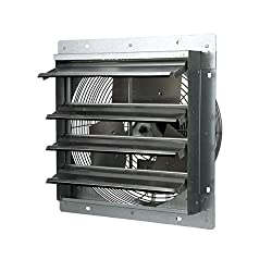 top 10 tpi exhaust fans TPI Corporation direct drive exhaust fan CE14-DS, damper mounting, single phase, diameter 14 inches, …