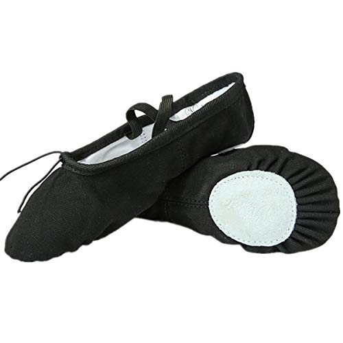 black split sole ballet shoes - 9