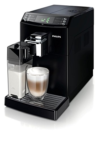 Philips 4000 series HD8847/09 - Cafetera (Independiente, Máquina espresso, 1,8 L, Molinillo integrado, 1850 W, Negro)