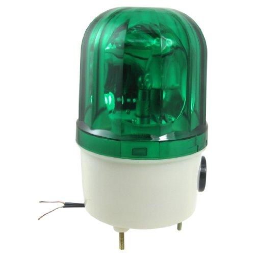 sourcingmap 220V 10w Vert Gyrophare Led AvertIR Buzzer Signal Industriel Lampe Tour