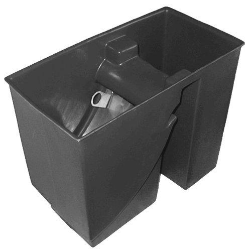 Leergehäuse für Spaltsiebfilter Bogensiebfilter Teichfilter geeignet für 255m breite Siebe