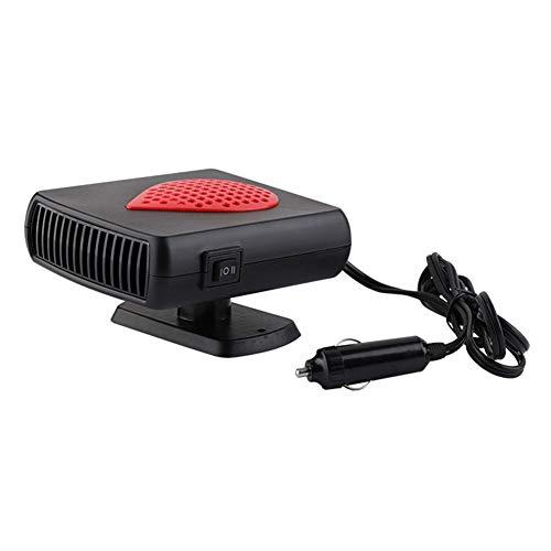Calefacción y ventilador de coche Suppemie, 12 V/24 V, 2 en 1, apto para coches, camping y viajes