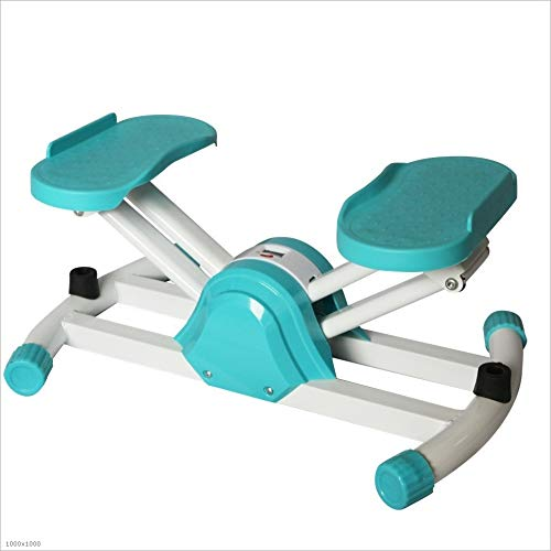 Best Bargain ROBDAE Fitness Stepper Women and Man Type Sport Mode Climbing Machine Cardio Fitness Fi...