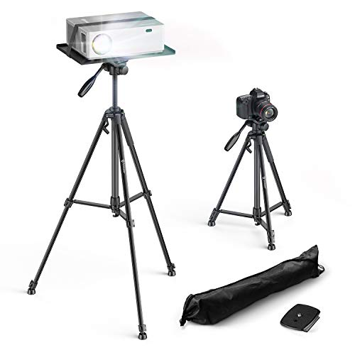 Bomaker Soporte Proyector, Trípode para Proyector Trípode,Aluminio Trípode para Móvil, Cámara, iPhone,...