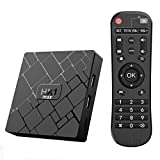 Android 10.0 TV Box- Bqeel TV Box 4GB+64GB RK3328 Quad-Core 64bit Cortex-A53 con Dual-WiFi 2.4GHz/5GHz, BT 4.0, 4K*2K UHD H.265, USB 3.0 Smart TV Box