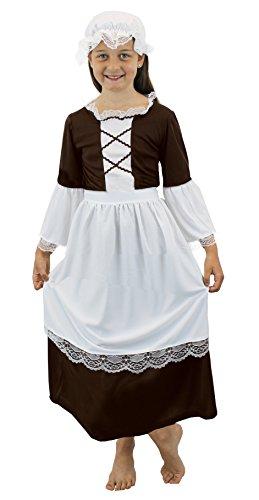 Ik hou van mooie jurk ILFD7023S meisjes Tudor meid kostuums (klein)