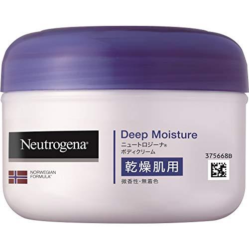 スマートマットライト Neutrogena(ニュートロジーナ) ノルウェーフォーミュラ ディープモイスチャー ボディクリーム 乾燥肌用 微香性 200ml