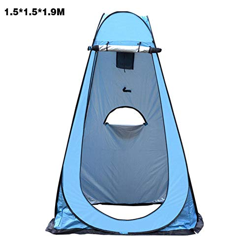 Portable Pop Up Tents, Privacy Pop-Up Pod, Privacy Tents, Instant Changing Room Camping Shower Tent Camp Toilet for Outdoors Hiking, Lightweight, Sturdy, Foldable - with Carry Bag Windbreak Rope Stake