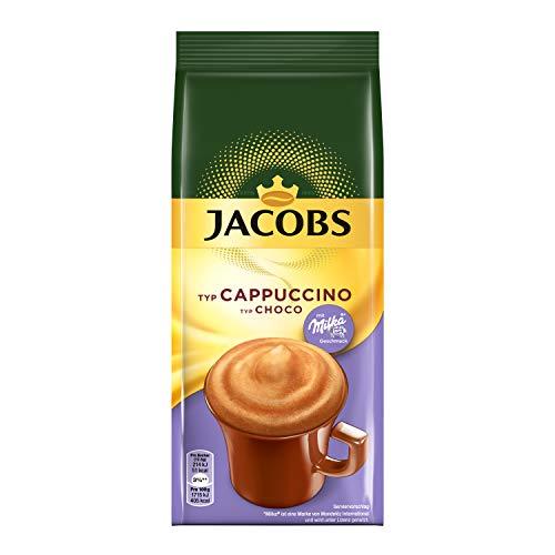 Jacobs Cappuccino Choco, 12er Pack Kaffeespezialitäten, 12 x 500 g im Nachfüllbeutel