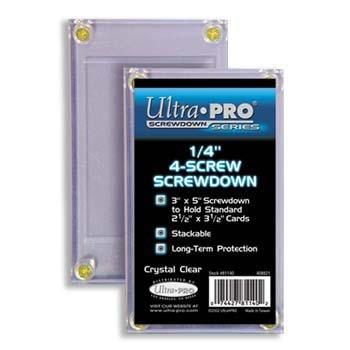 Ultra Pro Screwdown 1/4-inch 4-Screw Card Holder Recessed