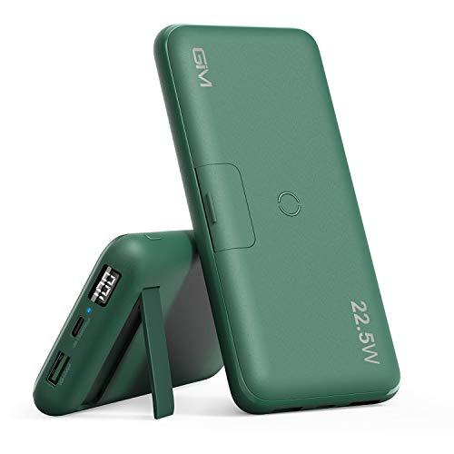 GIM Caricabatterie Portatile, 20000mAh Batteria Esterna, 10W Caricatore Wireless Power Bank, PD, QC 3.0 e 22.5W Super Fast Charging per iPhone, Samsung, Huawei