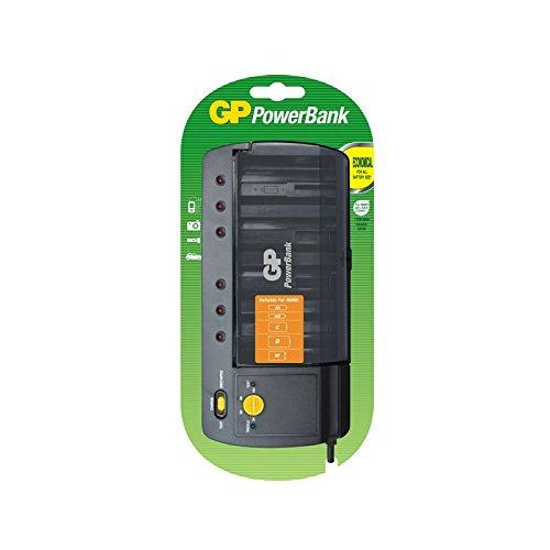 GP PB320 GS-UC1 PowerBank S320 universele constante stroomlader voor NiMH (AAA/AA/C/D/9V)
