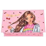 Depesche Joyero con espejo TOPModel Cherry Bomb, rosa, 20,3 x 11,8 x 7,3 cm aprox.